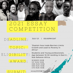 2021 Essay Competition
